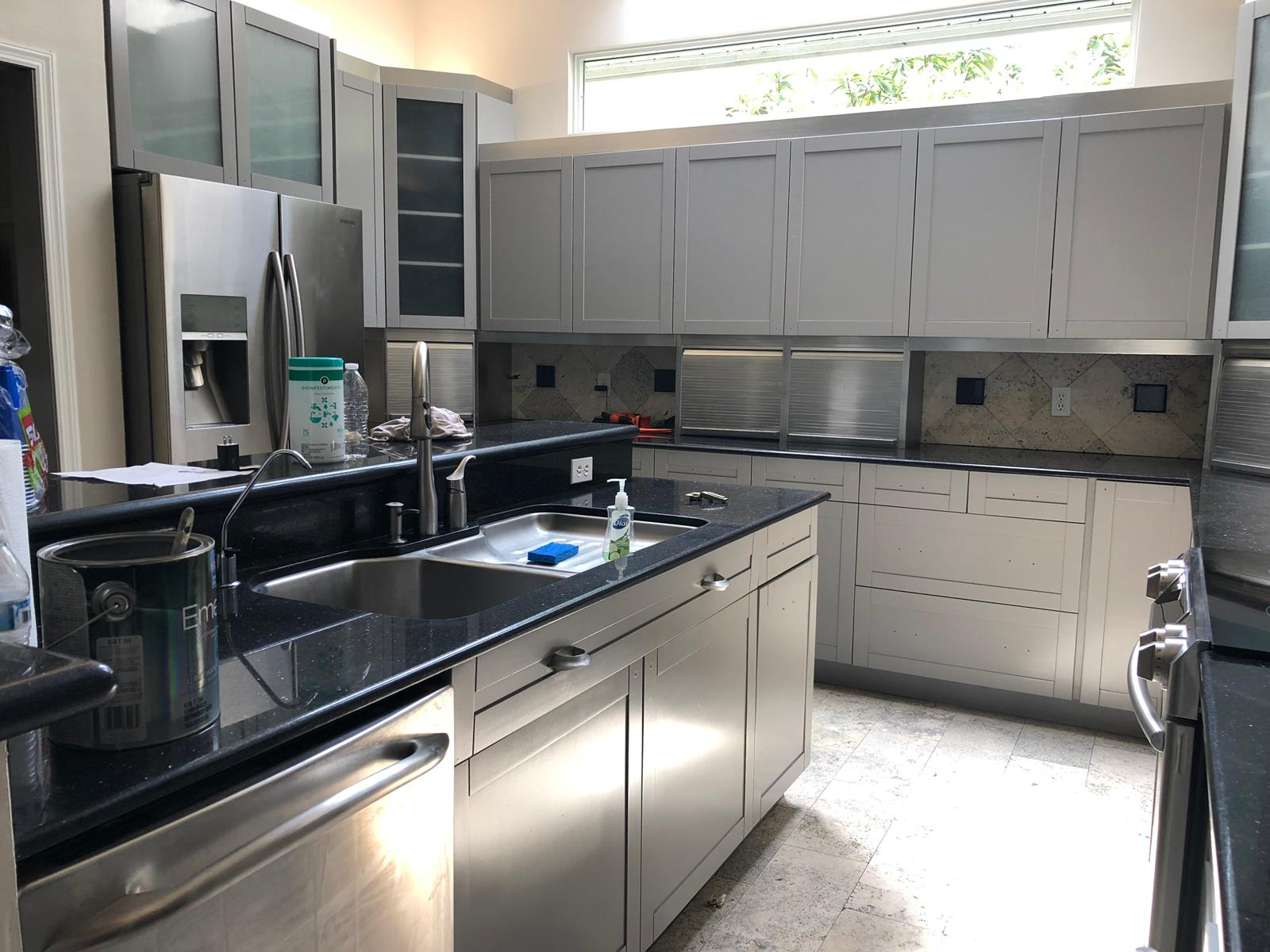 Painting Kitchen Cabinets in Orlando, Fl | A Painters Touch