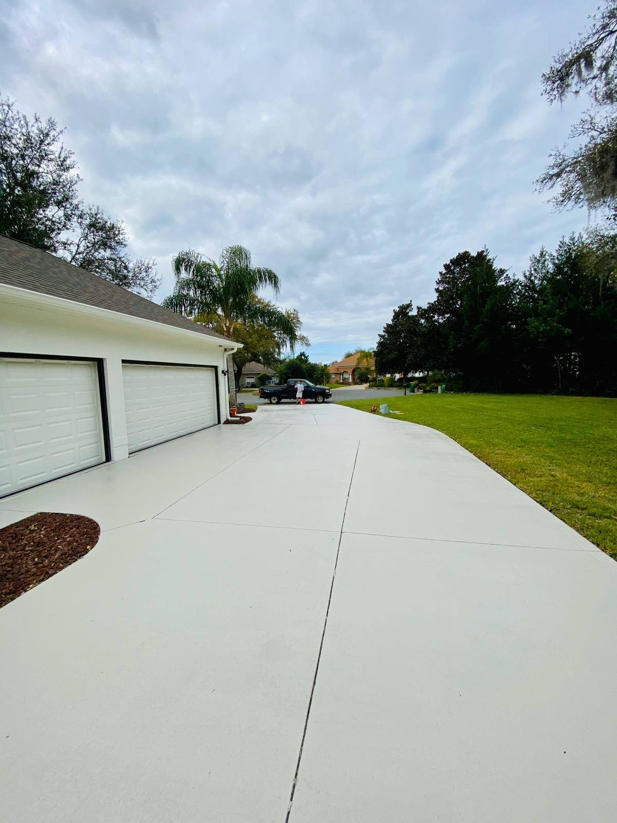 apopka driveway painting