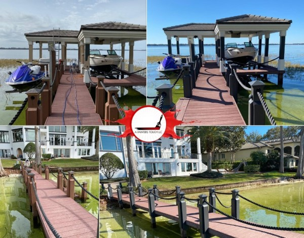 Dock Staining in Windermere, FL