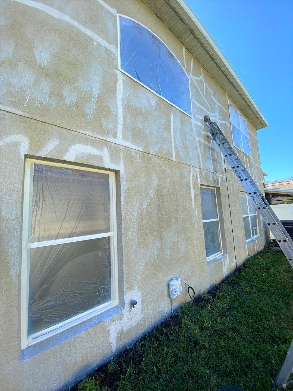 Elastomeric Caulking and Settlement Cracks in Orlando, FL