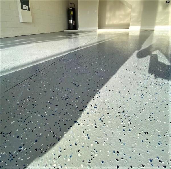 Garage Floor Epoxy Project in Orlando, FL