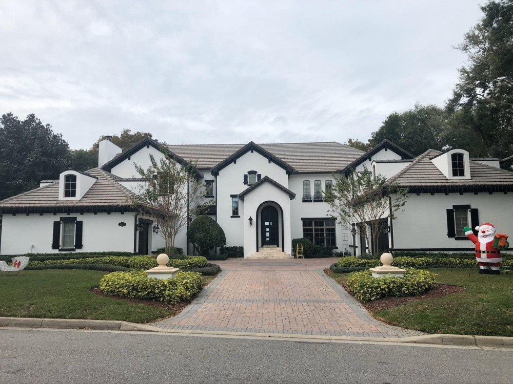 Lake Side Exterior Painting in Windermere, FL